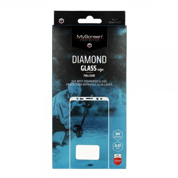 "Zaštitno staklo iPhone 12 (5,4"") MyScreen Diamond Glass edge Full Glue - tempered glass"