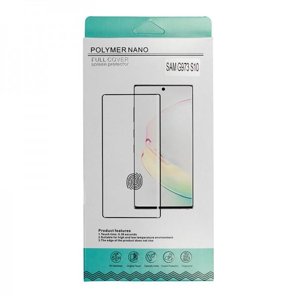 Zaštitno staklo Samsung S10,G973 Polymer nano hybrid - tempered glass