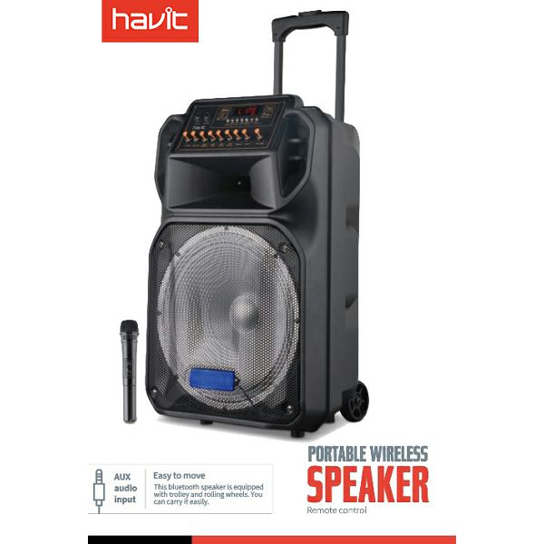 HAVIT zvučnik bluetooth karaoke SF105BT 2.1,mikrofon