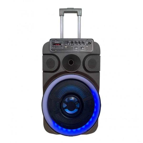 Zvučnik bežični bluetooth supersound karaoke S128-S sa žičnim mikrofonom
