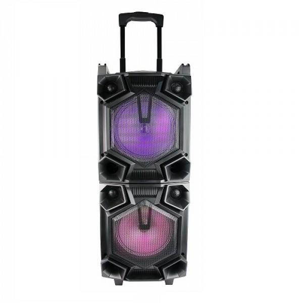 Zvučnik bežični bluetooth supersound karaoke S17+ sa žičnim mikrofonom